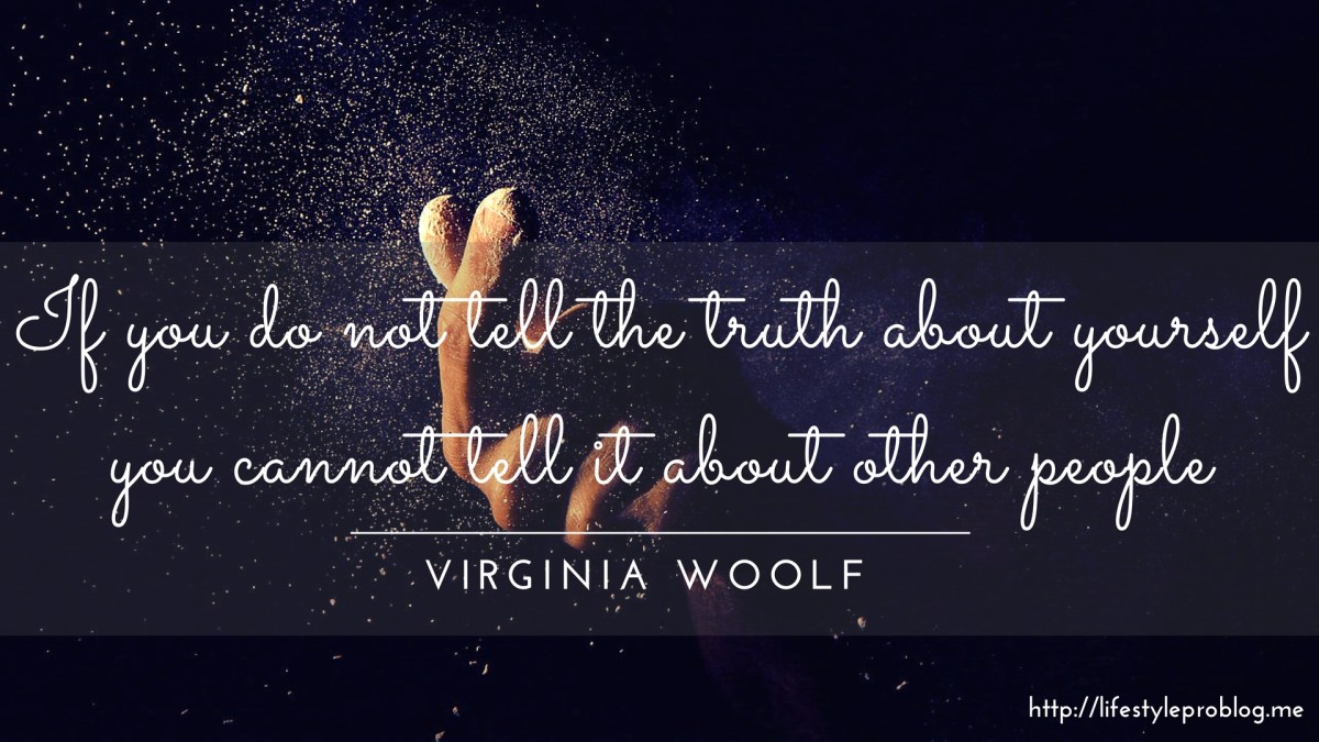 #AtoZChallenge : Virginia Woolf Quote