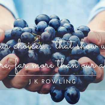 J K Rowling Quote