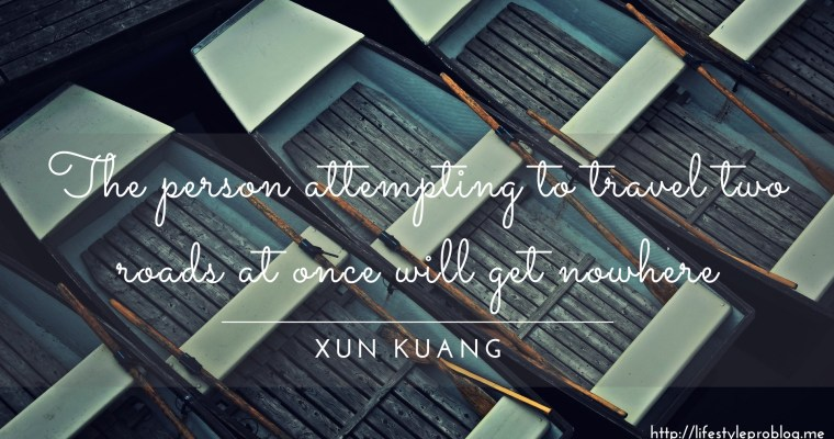 #AtoZChallenge : Xun Kuang Quote