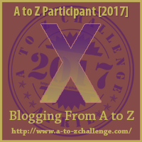 A to Z Challenge X