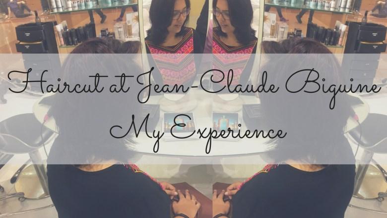 Haircut at Jean-Claude Biguine - My Experience