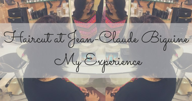 Haircut at Jean-Claude Biguine – My Experience and an Offer!