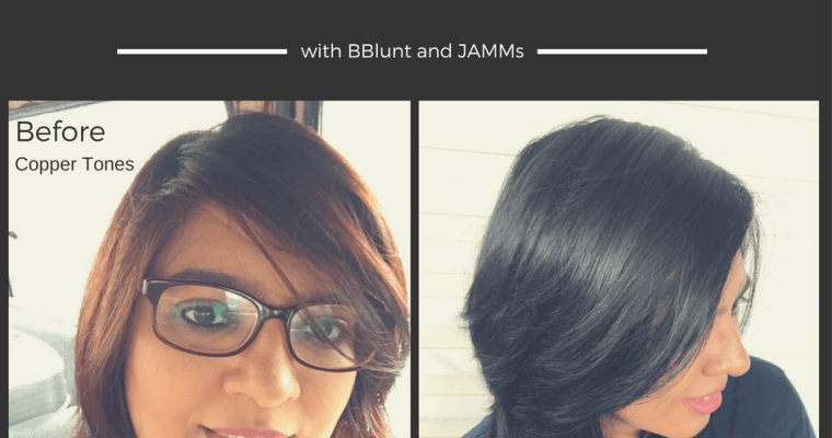 Hair Makeover and Review BBlunt Salon Secrets High Shine Creme Hair Colour