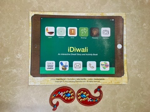 iDiwali interactive Diwali story activity book