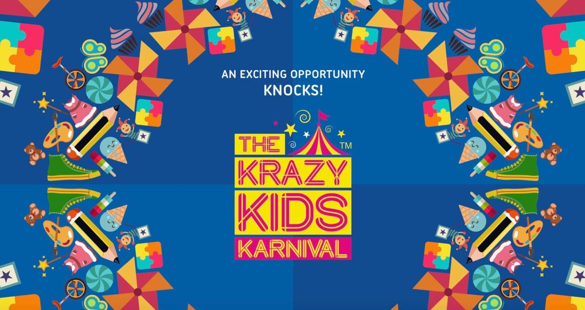 Krazy Kids Karnival - a modern day Diwali Mela!