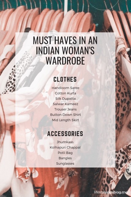 Must haves in an Indian Woman's wardrobe