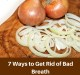 Get rid of bad breath - halitosis