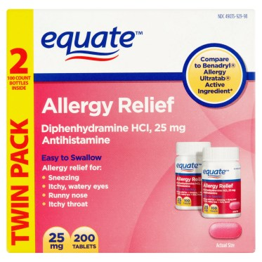 Antihistamine - Add to your travel first aid kit