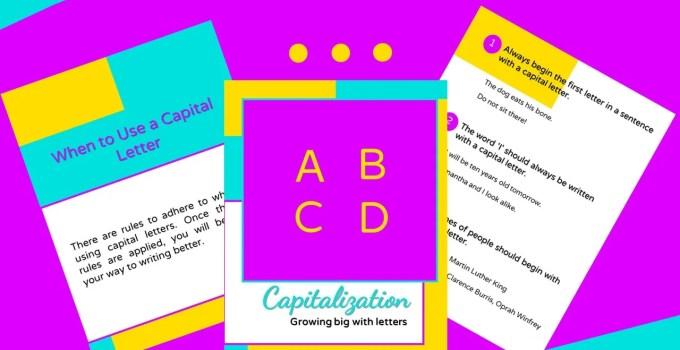 Capitalization Rules PDF