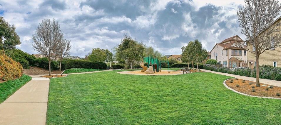 Children's playground nearby.