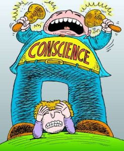 conscience How to develop personality and confidence