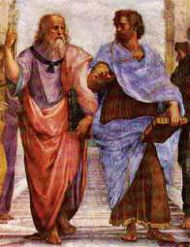 aristotle and plato