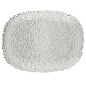 PampaBay CER-1140 Millenium Silver Titanium Serving Platter
