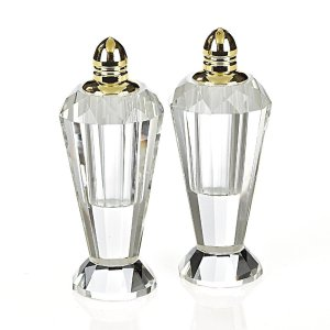 "Badash Crystal <a href=""Badash Crystal Handmade Lead Free Crystal Pair Salt & Pepper Set - Preston - 4 inch with Gold Tops"">Handmade Lead Free Crystal Pair Salt & Pepper Set - Preston - 4 inch with Gold Tops</a>"