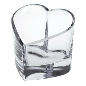 Badash Crystal Romance European Mouth Blown Heart Bowl or Votive - K881