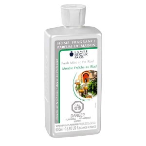 Fresh Mint at the Riad Lampe Maison Berger Fragrance 500ml - 415121