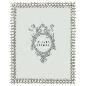 Olivia Riegel Silver Crystal Pearl 8 x 10 inch Frame - 150280