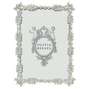 Olivia Riegel Silver Duchess 4 x 6 inch Frame - RT7501
