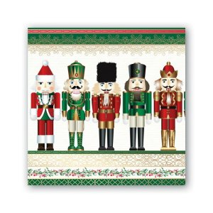 Michel Design Works Nutcracker Cocktail Napkin NAP313