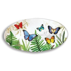 Michel Design Works Papillon Oval Platter SWPO298