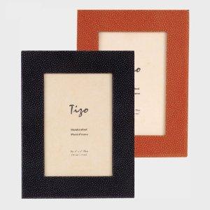Tizo Design Black Wood Frame with Polished Wood Back NC403BK
