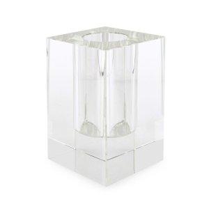 Tizo Design Crystal Glass Short Square Vase PH302VAS