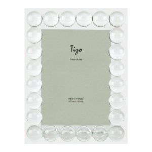 "Tizo Design <a href=""https://lifestylesgiftware.com/product/tizo-design-crystal-glass-single-bubble-picture-frame"">Crystal Glass Single Bubble Picture Frame </a>"