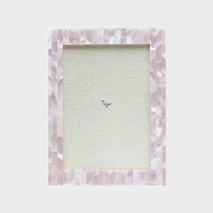 Tizo Design Pink Mother of Pearl Frame MP75PNK
