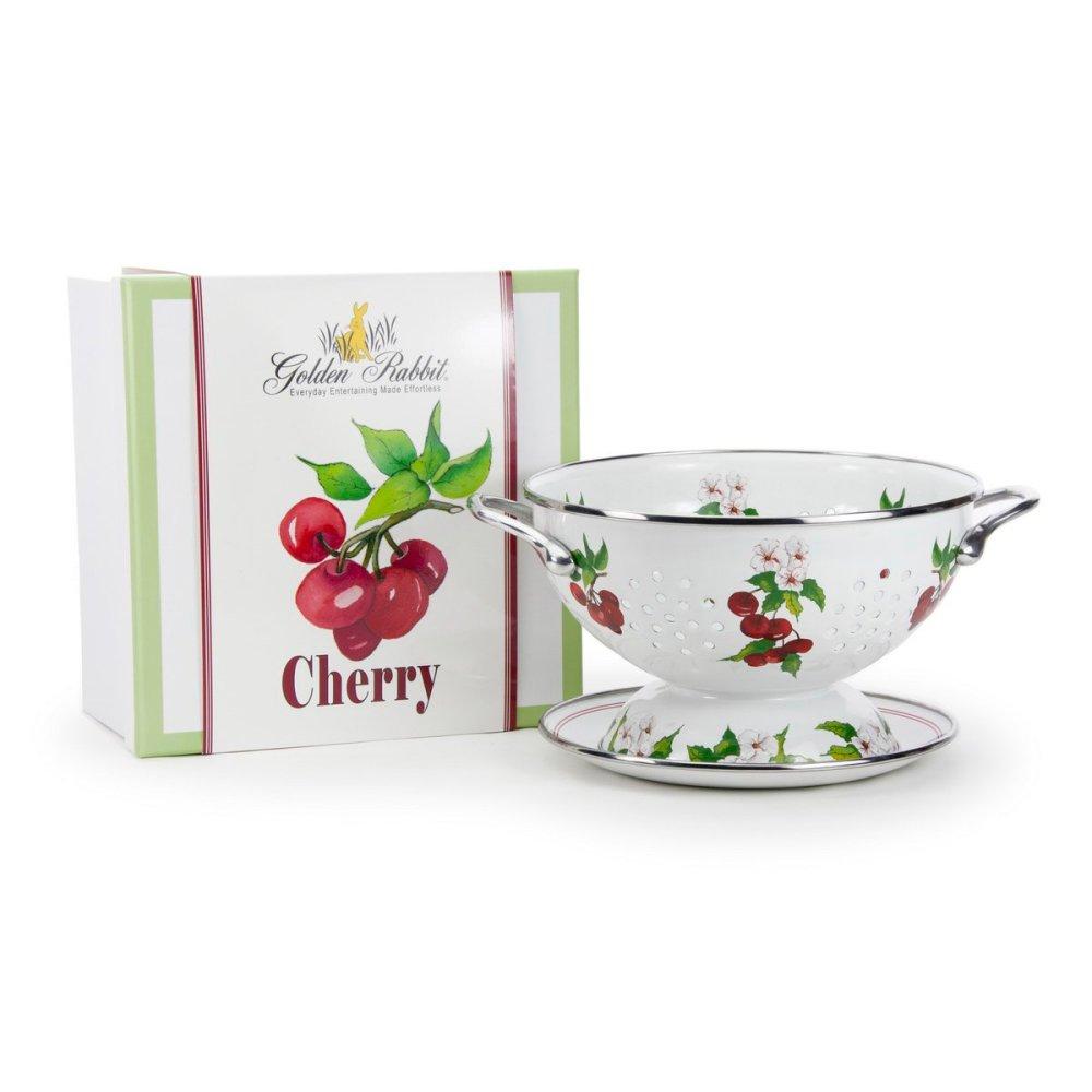 cherry colander gift set golden rabbit
