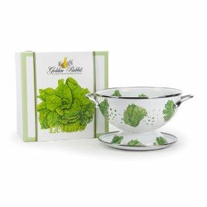 lettuce colander gift set golden rabbit