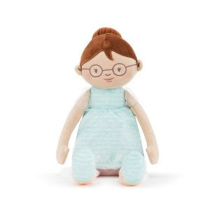"Demdaco <a href=""https://lifestylesgiftware.com/product/demdaco-brunette-haired-doll/"">Brunette Haired Doll</a>"