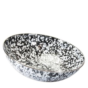 Black Swirl Catering Bowl