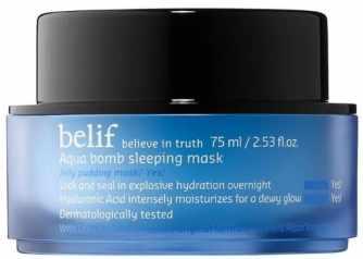 Belif Aqua Bomb Sleeping Mask Review