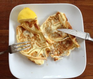 Paleo pancakes with arrowroot powder 2