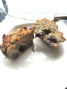 Blueberry & Courgette Muffins
