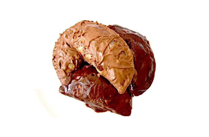 चॉकलेट गुझिया