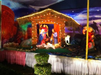 Nativity at Sacred Heart Church Delhi