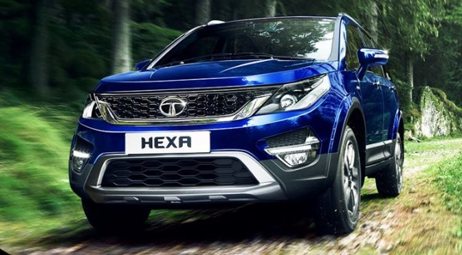 Off-road and On-road experience with TATA Hexa