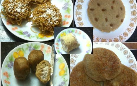 Kerala breakfast recipes with wheat flour