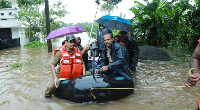 An overview of the flood situation in Pathanamthitta Kerala