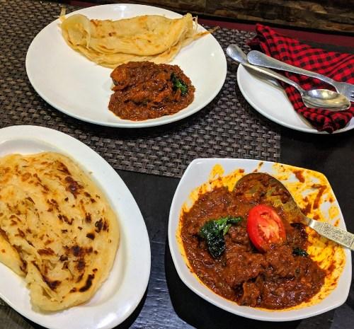 Onam lunch in Delhi