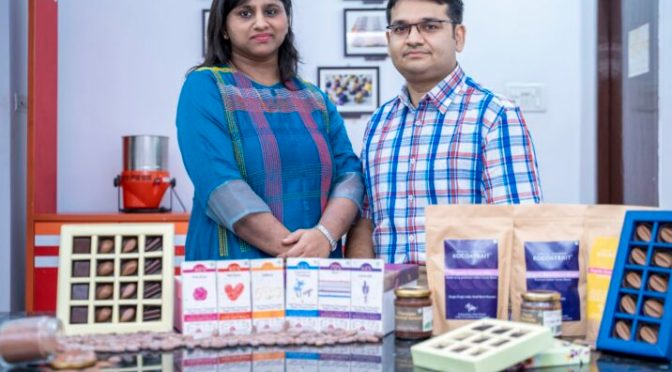 Meet the Bean to bar chocolatier couple in India