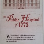 Art Museums Colonial Williamsburg:  Public Hospital Circa 1773