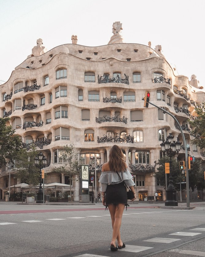The Most Instagrammable Spots In Barcelona | lifestyletraveler.co | IG: @lifestyletraveler.co