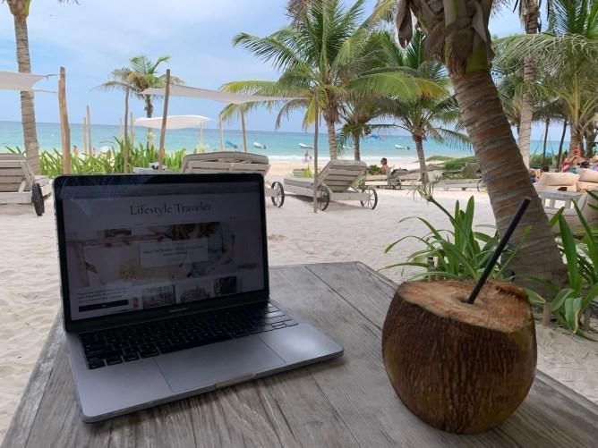 Tulum Remote Work and Wellness Retreat   lifestyletraveler.co   IG: @lifestyletraveler.co