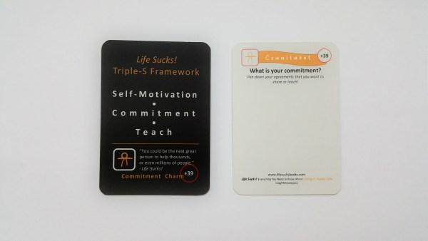 Self-Motivation | Commitment | Teach
