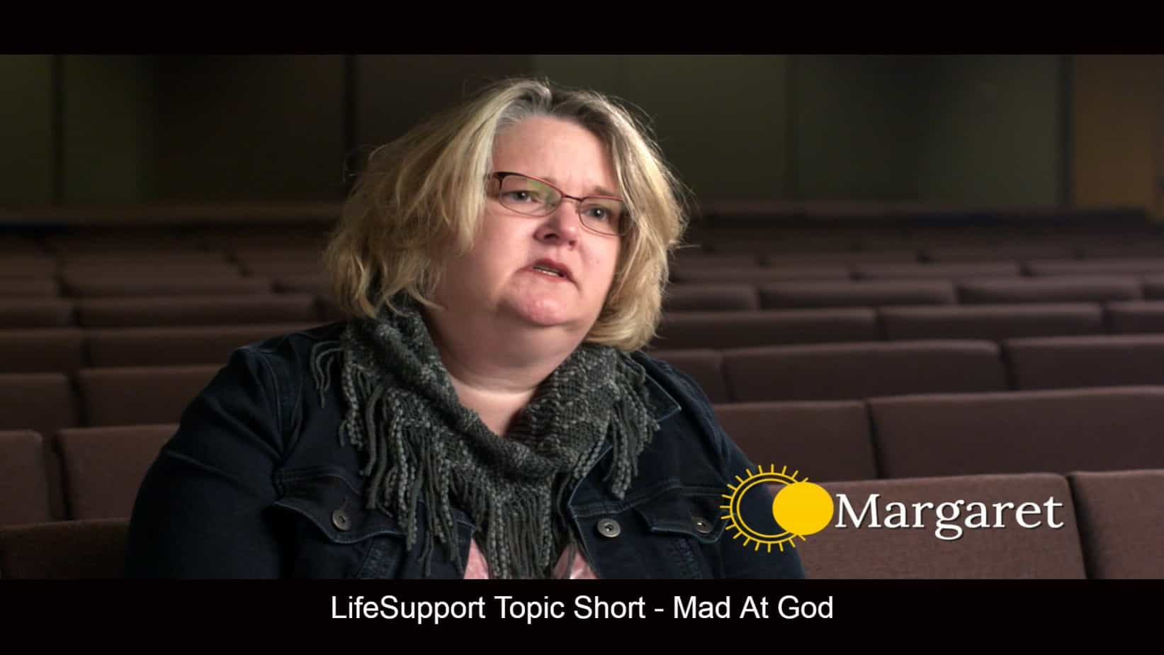 Mad at God depression