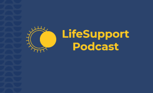 Cover image for the LifeSupport mental health and ministry Podcast