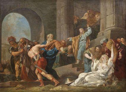 La Justification de Suzanne, by François-Guillaume Méneageot