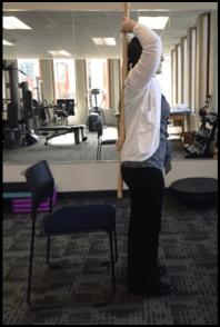 Hamstring Flexibility Motion 1